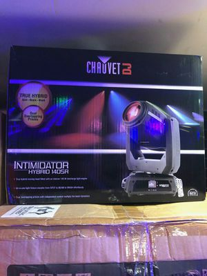 Chauvet dj intimidator hybrid 140sr on sale today message us for the best deals in la la today for Sale in Downey, CA