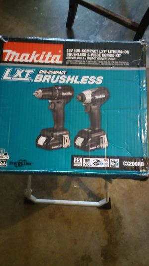 18-volt KTX Kithium-Ion Sub-Compact BrushlessCordless 2 piece Combo Kit for Sale in Henderson, NV