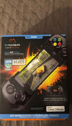 MOGA Mobile Game Controller for IPhone 5 GAME Controller for Sale in Fontana, CA