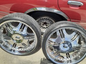 22 inch rims for Sale in Lehigh Acres, FL