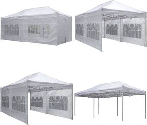 10x20 Canopy for Outdoor Dining Party Sports Festivals Churches Camping Cover Shade Tent for Sale in Chino Hills, CA