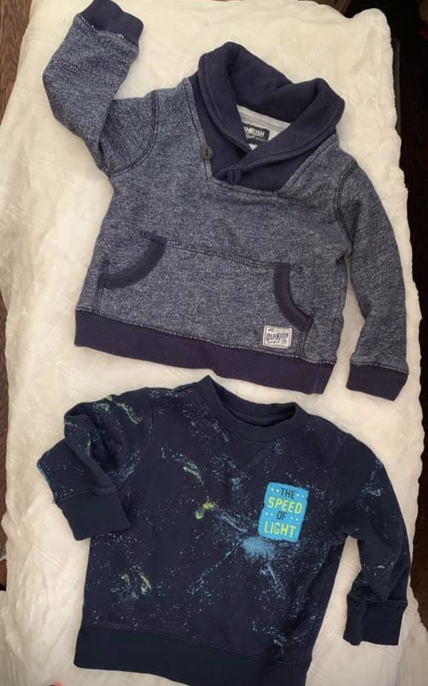 Baby Boy Fall and Winter Clothes Lot