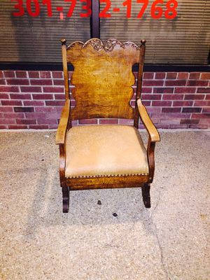 Antique Wooden Rocking Chair for Sale in Fort Washington, MD