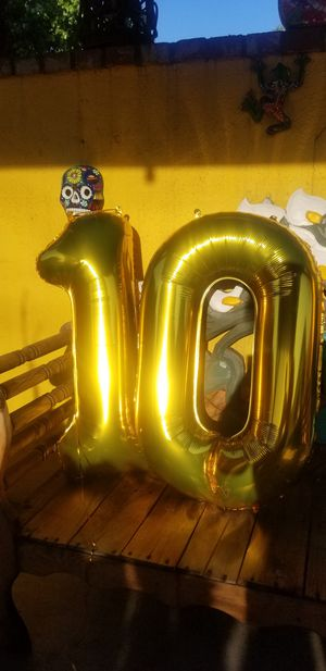 Number 10 Balloons for Sale in Hacienda Heights, CA