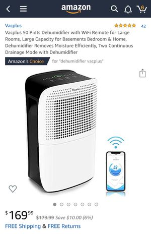 Dehumidifier! for Sale in Dunwoody, GA