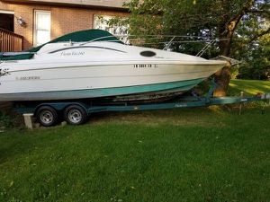 Rinker Fiesta 240 1997 Yacht With Trailer for Sale in South Barrington, IL