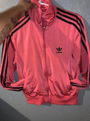 Pink Kids Medium Adidas Jacket for Sale in Tampa, FL