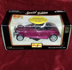 Vintage Maisto 1997 Die-Cast Metal Plymouth Prowler for Sale in Trenton, NJ