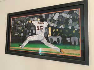 S.F. Giants Tim Lincecum Custom Painting for Sale in Scottsdale, AZ