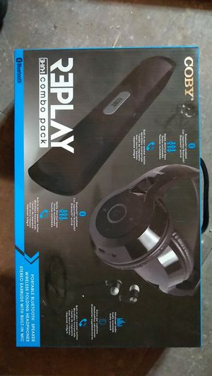 New Coby Bluetooth Combo. Unopened. for Sale in Noblesville, IN