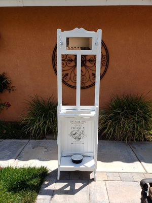 Newly refinished French Country entryway stand. for Sale in Riverside, CA