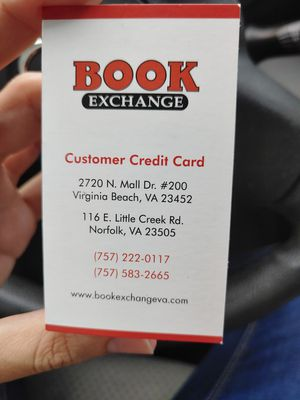 Book Exchange-Credit $122 for Sale in Norfolk, VA