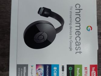 Chromecast 2nd Gen. With Box, (ga3a00093-a14-z01), for Tv Casting From Phone USED for Sale in Cleveland,  OH
