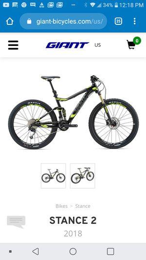Giant Stance 2 Mountain Bike for Sale in Swampscott, MA
