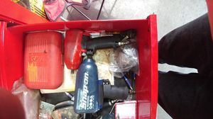 1/2 3/8 inch snap on impact guns and tool box for Sale in Bel Air, MD