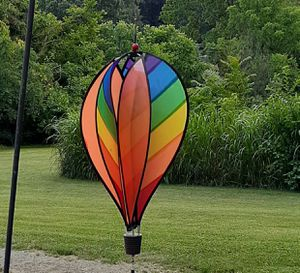 Rainbow balloon wind spinner for Sale in Weyers Cave, VA