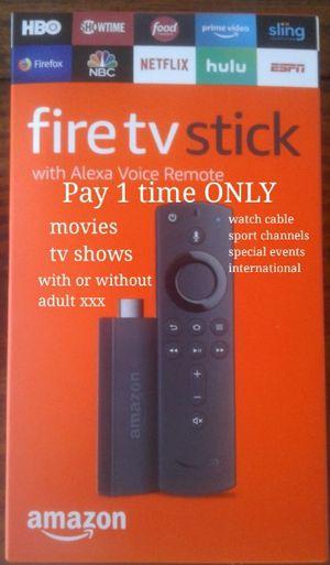 Amazon Fire Tv stick PREMIUM for Sale in San Antonio, TX