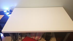 IKEA white desk for Sale in Round Lake, IL
