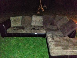 2 piece sectional couch for Sale in Statesboro, GA