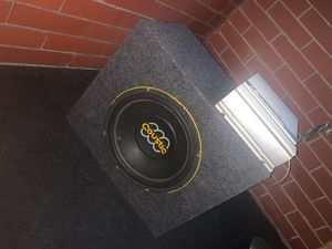 """10"""" sub with amp for Sale in Toledo, OH"""