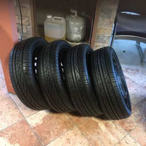 4 tire slightly used 4 log for Sale in Moreno Valley, CA