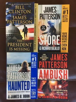 James Patterson Books for Sale in Sunnyvale, CA