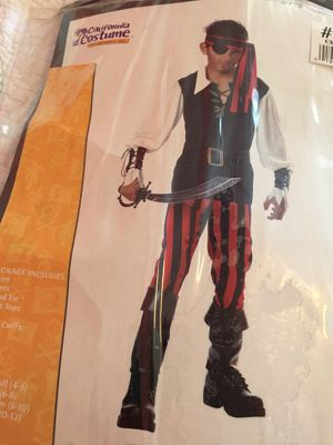 Boy Pirate costume size M (8-10) for Sale in Germantown, MD