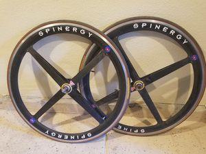 Spinergy Carbon Fiber bike wheels for Sale in Henderson, NV