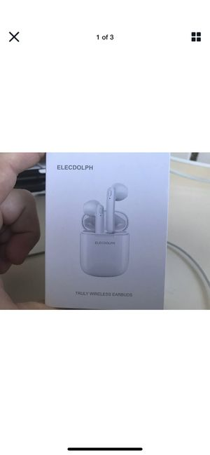 ELECDOLPHWireless Earbuds Bluetooth 5.0 Headphones Stereo Bass 24H Playtime for Sale in Mt. Juliet, TN