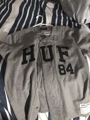 Huf baseball jersey for Sale in Rancho Cucamonga, CA