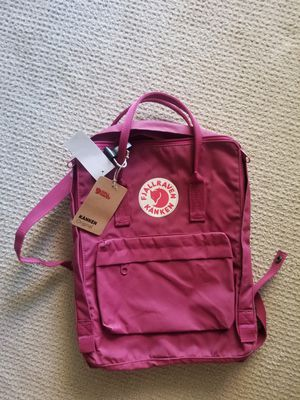 VJALLRAVEN/ KANKEN dark pink bag. for Sale in West McLean, VA