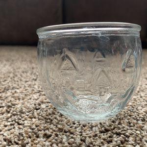 Halloween Jack- O - Lantern Glass Votives (set of 6) 🎃 for Sale in Apple Valley, CA