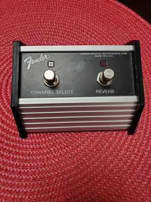 Fender 2 Button Footswitch for Sale in Las Vegas, NV