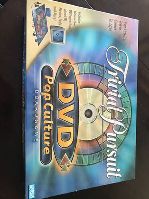 Trivial pursuit dvd pop culture board game for Sale in Oakland Park, FL