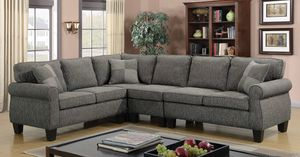 Amazing Dark Gray Sectional Couch - EXCELLENT condition! for Sale in San Francisco, CA