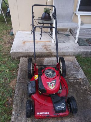Craftsman lawn mower 6.25 very strong for Sale in Cutler Bay, FL