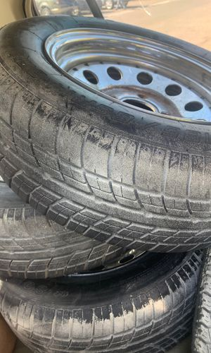 4 four lug trailer rims and tires 110x4 for Sale in El Cajon, CA