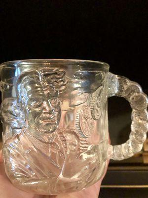1995 Batman Forever glass mug — TwoFace for Sale in Mokena, IL