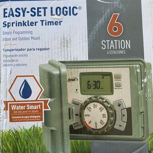 Orbit 57896 6 Station Outdoor Sprinkler Timer for Sale in Las Vegas, NV