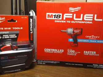 """MILWAUKEE M18 1/2"""" EXTENDED ANVIL IMPACT WRENCH for Sale in Woodburn,  OR"""