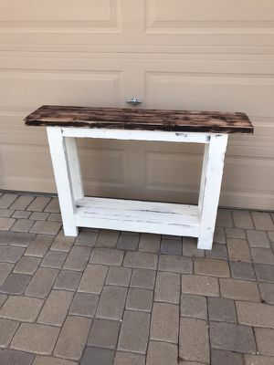 Console table sofa table custom build for Sale in Phoenix, AZ