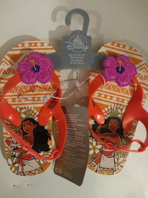 Disney's Moana flip-flop for Toddlers for Sale in Brooklyn, NY