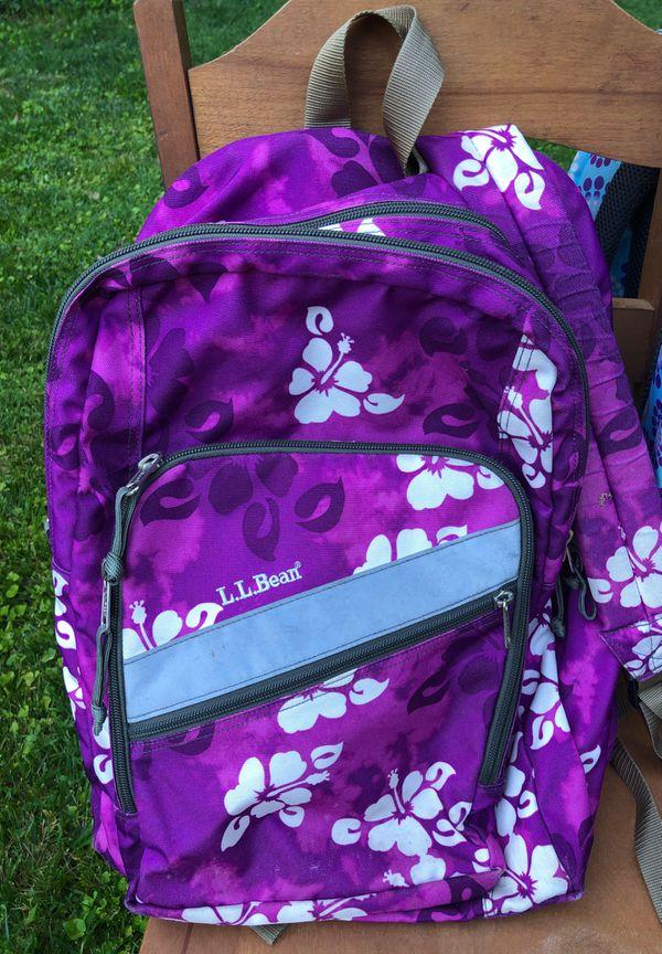 Girls School Backpack and Tennis Backpack