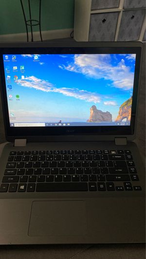 Acer laptop touch screen. Folds into tablet for Sale in Fairfax, VA