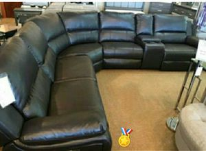 🏅 SPECIAL 🏅 Vacheria Black Reclining Sectional 👉 by Ashley for Sale in Baltimore, MD