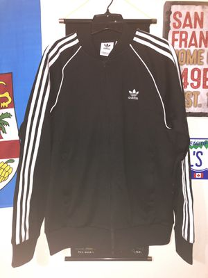 Adidas zip up Bomber Jacket for Sale in Pinole, CA