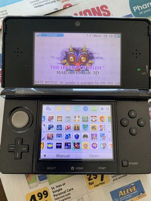 Black Nintendo 3DS modded with over 300+ games for Sale in Irvine, CA
