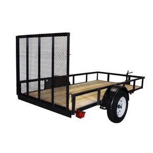 5 by 10 utility trailer for Sale in Salt Lake City, UT