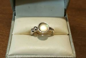 Vintage SS Moonstone Opal Ball Ring. for Sale in Pawtucket, RI