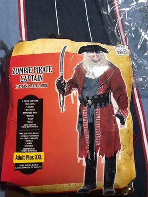 Costume zombie pírate captain for Sale in Miami, FL